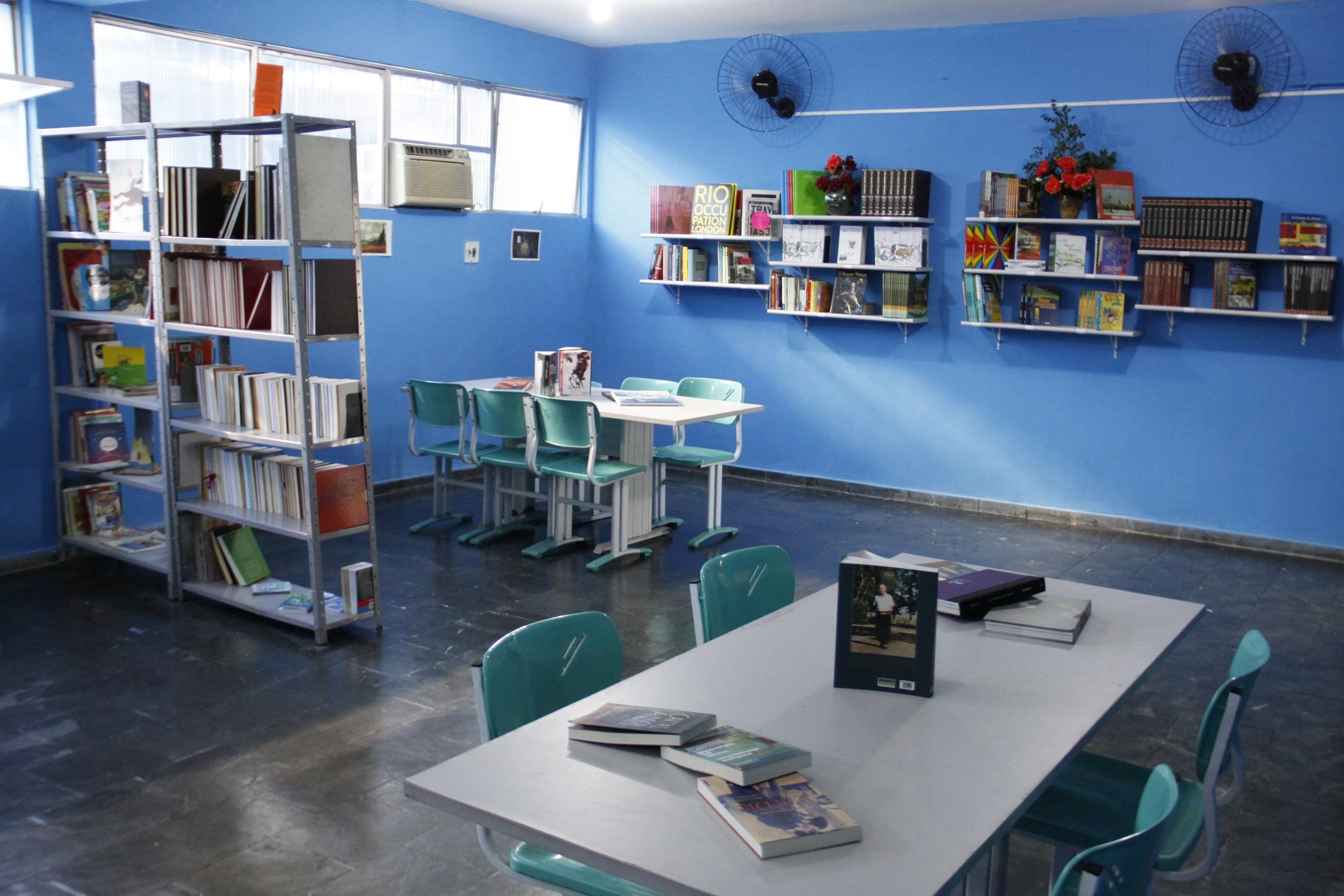 Sala de Leitura é inaugurada em São Gonçalo