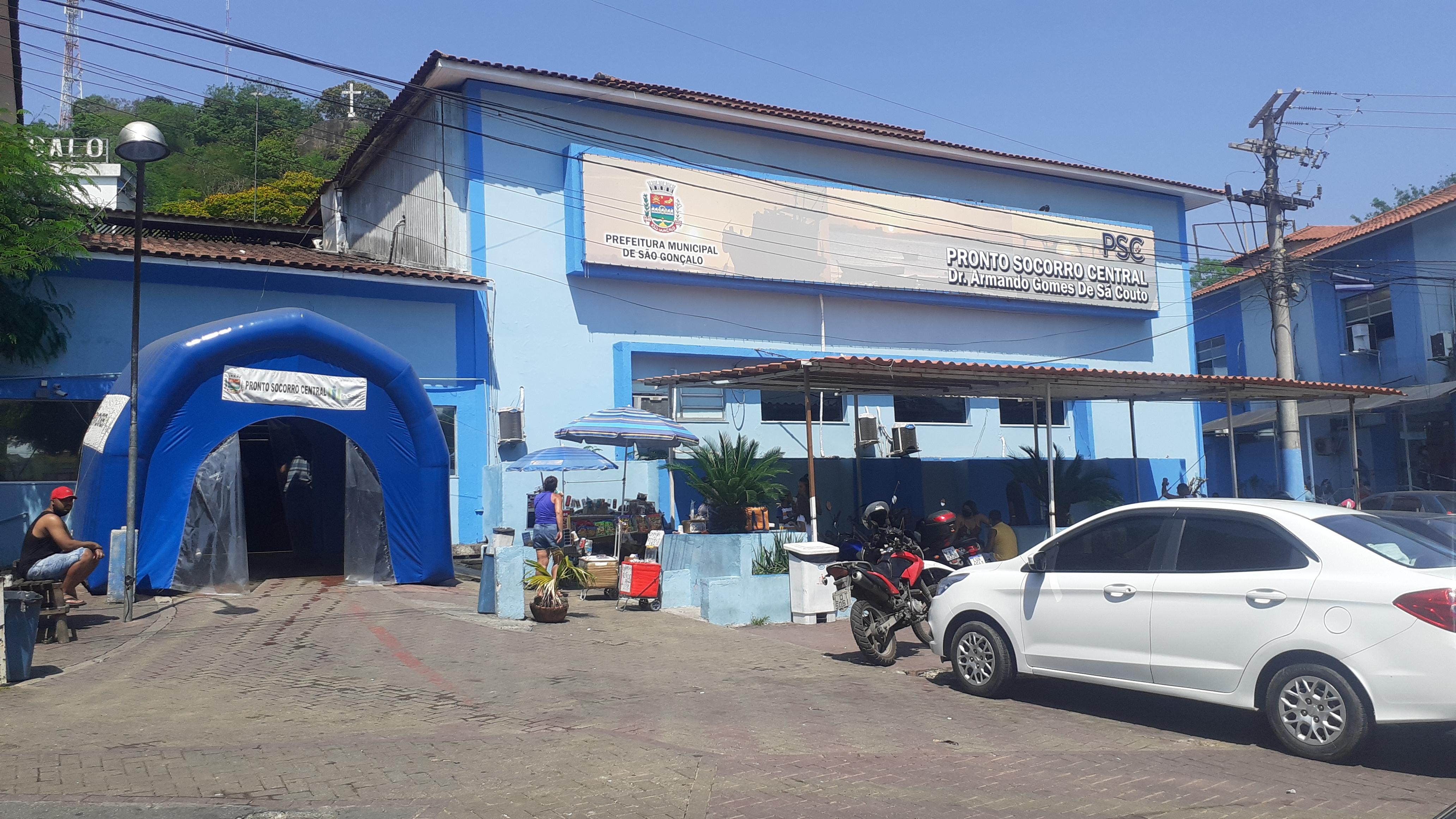 Entregador de água é baleado em São Gonçalo